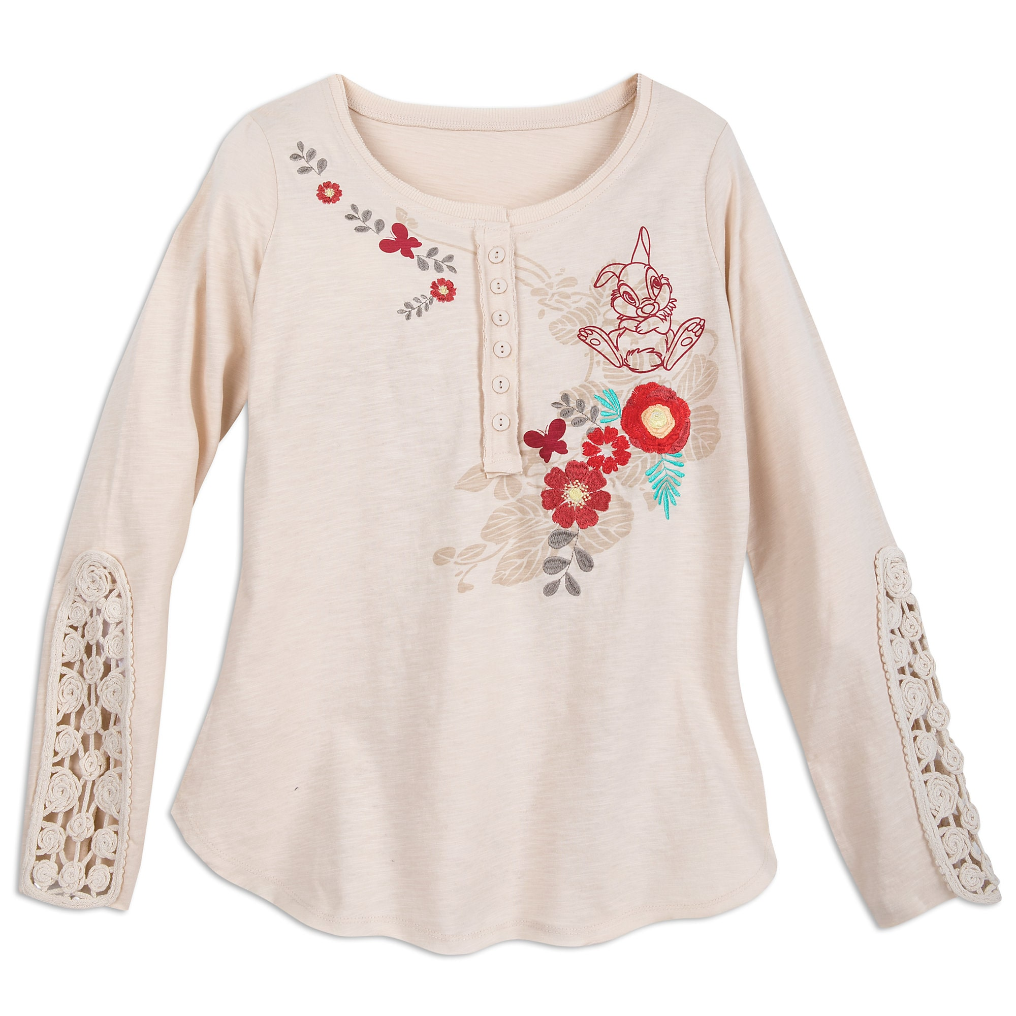 Thumper and Flower Fashion Top for Women by Disney Boutique