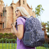 Image of Haunted Mansion Wallpaper Backpack # 2