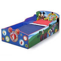 Image of Mickey Mouse Interactive Wooden Toddler Bed # 2