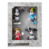 Image of Mickey Mouse Through the Years Mini Ornament Set 1 # 3