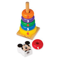 Image of Mickey Mouse Deluxe Wooden Classic Toy Set by Melissa & Doug # 4
