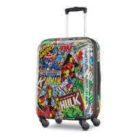 Image of Marvel Comics Rolling Luggage by American Tourister - Small # 1