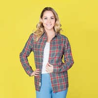Image of Dumbo Flannel Shirt for Adults by Cakeworthy # 6
