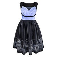 Image of Haunted Mansion Ballroom Dress for Women by Her Universe # 1