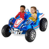 Image of Captain America Electric Ride-On Dune Buggy # 2