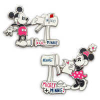Image of Mickey and Minnie Mouse Sweethearts Pin Set # 1