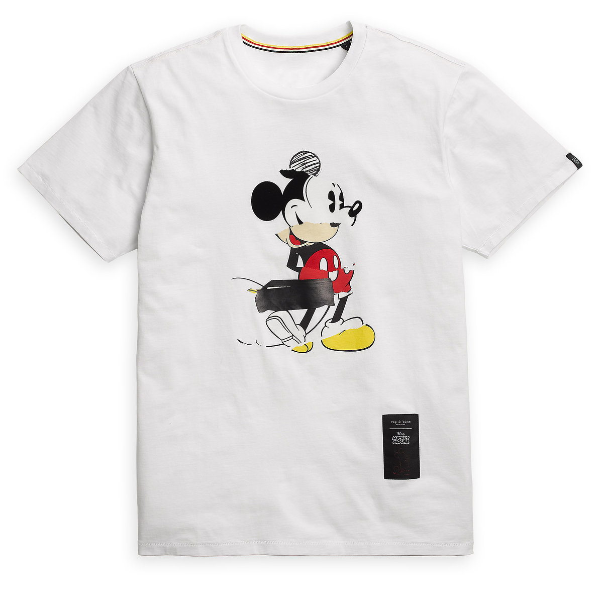 beae1fda74 Product Image of Mickey Mouse Collage T-Shirt for Adults by rag & bone #