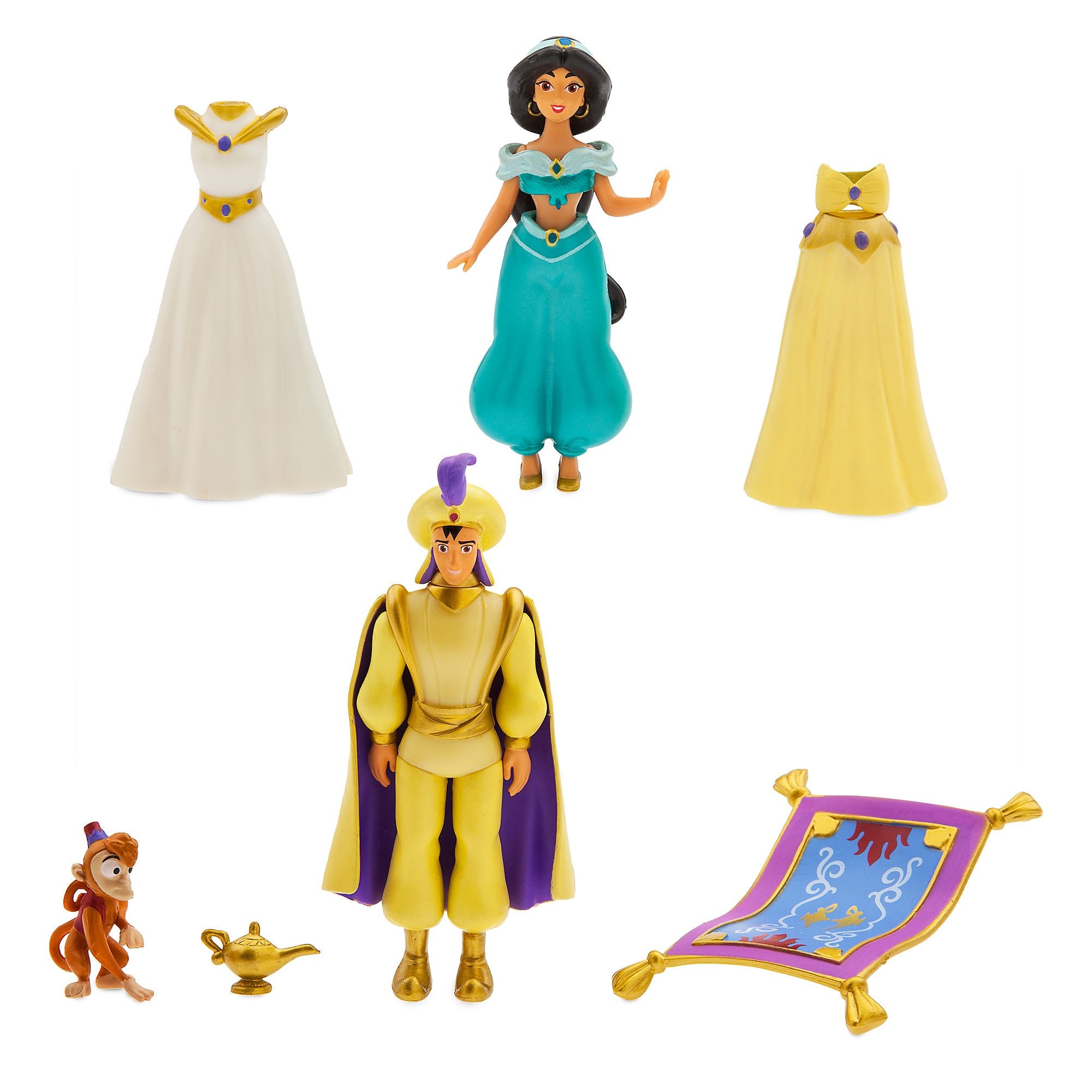 Jasmine Dress Up Figure Set
