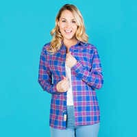 Image of Hercules Flannel Shirt for Adults by Cakeworthy # 6