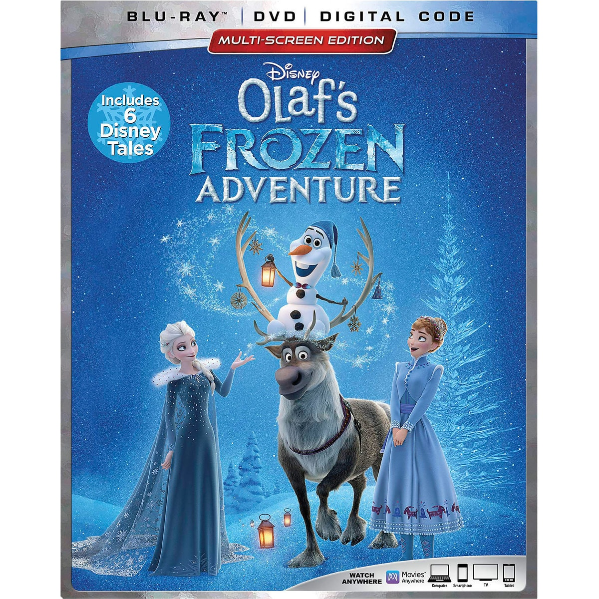 923a43a6d Product Image of Olaf's Frozen Adventure Blu-ray Combo Pack Multi-Screen  Edition #