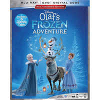 Image of Olaf's Frozen Adventure Blu-ray Combo Pack Multi-Screen Edition # 1
