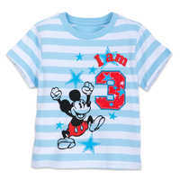 Image of Mickey Mouse Birthday Tee for Boys # 4