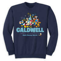 Image of Mickey Mouse and Friends Family Vacation Pullover for Kids - Walt Disney World 2019 - Customized # 1