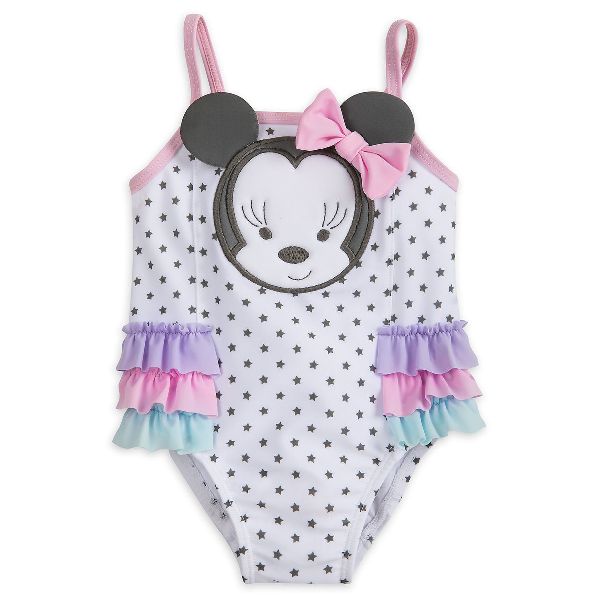 612722aa321b8 Product Image of Minnie Mouse Swimsuit for Baby   1