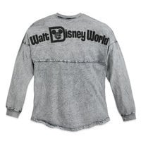 Image of Walt Disney World Mineral Wash Spirit Jersey for Adults - Gray # 2