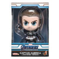 Image of Captain America Cosbaby Bobble-Head Figure by Hot Toys - Marvel's Avengers: Endgame # 4