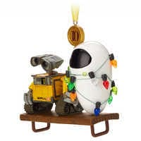 Image of WALL•E and E.V.E. Legacy Sketchbook Ornament - Limited Release # 3