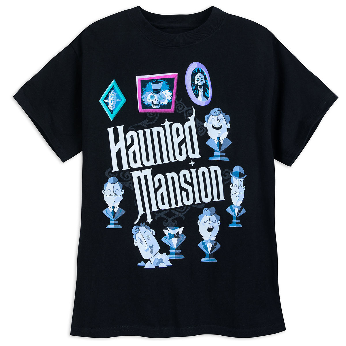 Product Image Of The Haunted Mansion Glow In Dark T Shirt