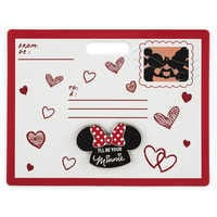 Image of Minnie Mouse Mouseketeer Ear Hat Pin # 1