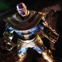 Image of Thanos Action Figure by Marvel Select - 7'' # 7