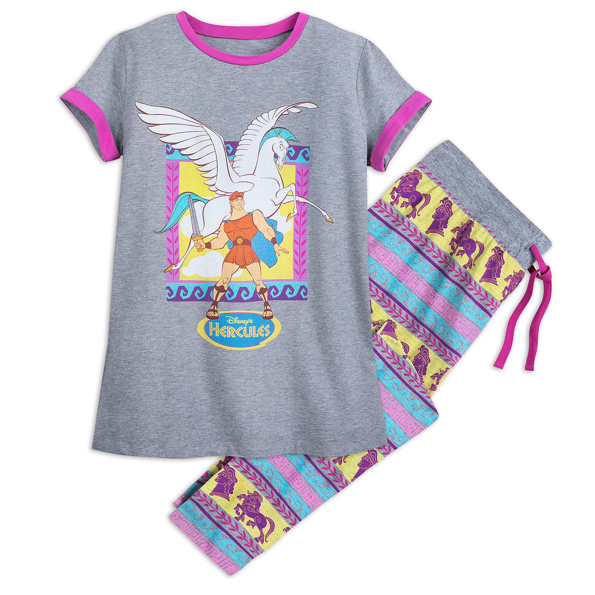 Product Image of Hercules and Pegasus Pajama Set for Women - Oh My Disney    1 17c234775