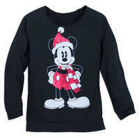 Image of Mickey Mouse Holiday Top for Women # 1