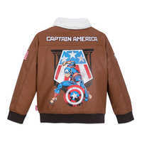 Image of Captain America Flying Jacket for Boys # 3
