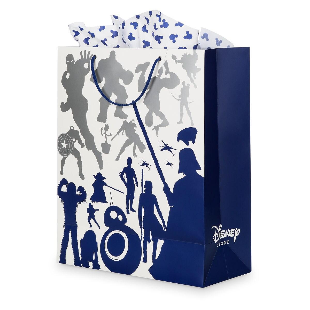 Disney Store Gift Bag Set Large Shopdisney