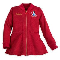 Snow White Glitter Jacket for Girls - Personalizable
