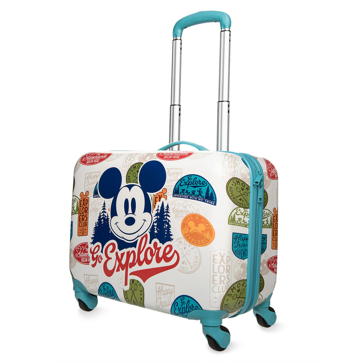 Product Image of Mickey Mouse   Go Explore   Rolling Luggage ... efea69de9ef00