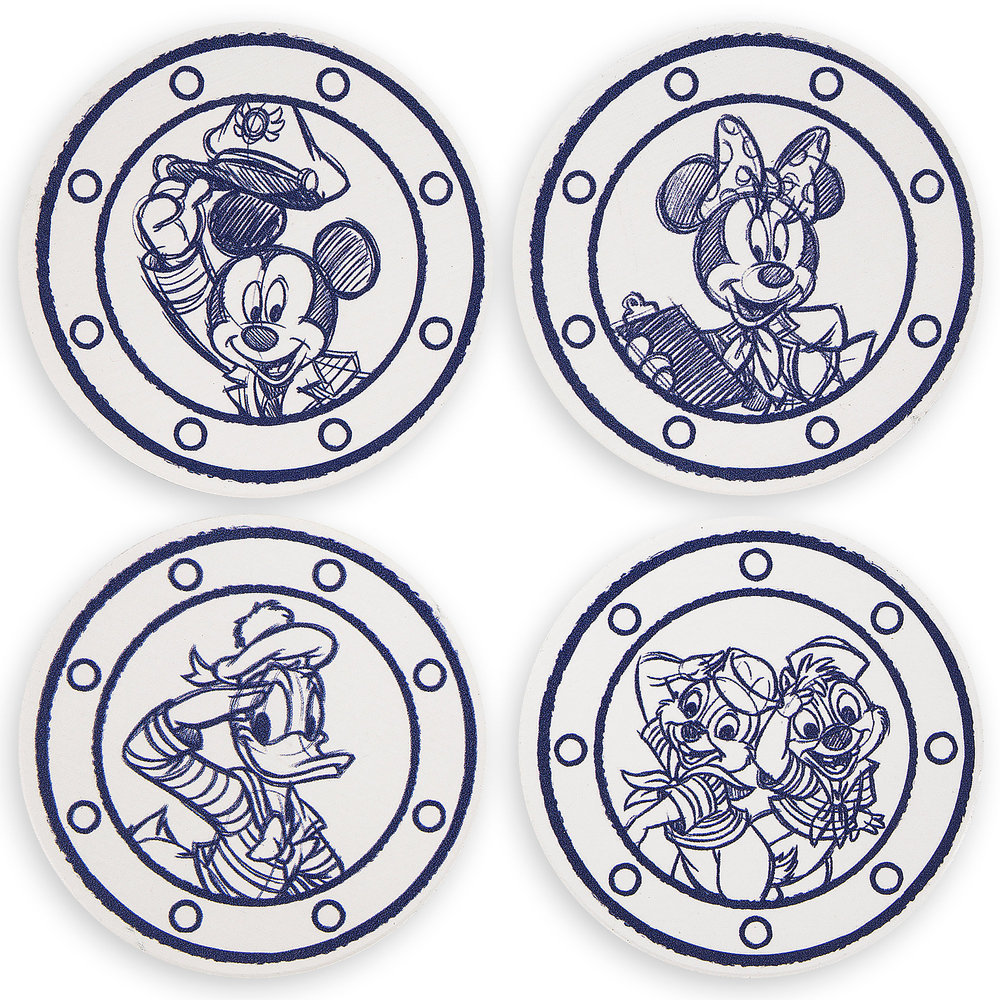 Disney Cruise Line Coaster Set