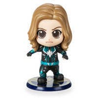 Image of Marvel's Captain Marvel Cosbaby Bobble-Head Figure by Hot Toys - Starforce Version # 1