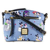 Image of Mickey and Minnie Mouse Crossbody Bag by Dooney & Bourke # 1
