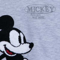 Image of Mickey Mouse Plane Crazy Fleece Sweatshirt for Adults # 3