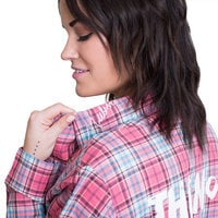 Image of Mulan Flannel Shirt for Adults by Cakeworthy # 7