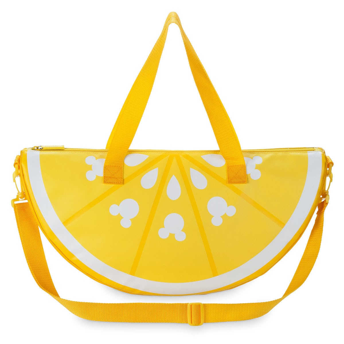 Mickey Mouse Lemon Wedge Cooler Bag - Summer Fun