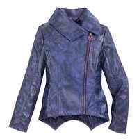 Image of Mal Faux Leather Moto Jacket for Girls - Descendants 3 # 1