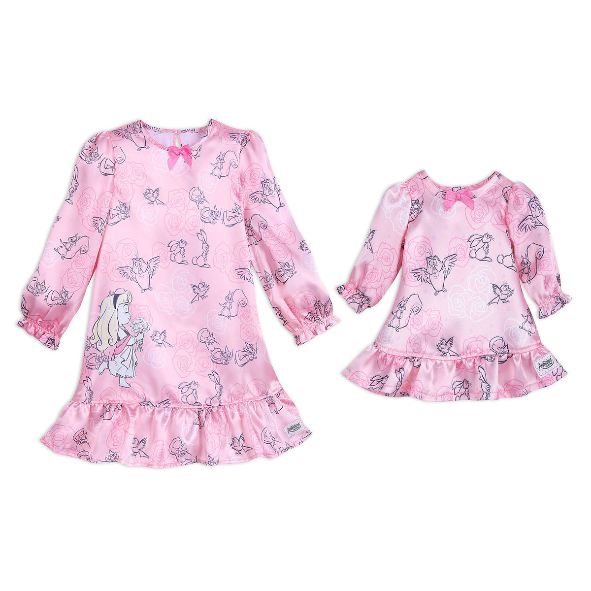 e861cae9fb Product Image of Disney Animators  Collection Aurora Sleep Gown Set for  Girls and Doll