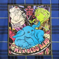 Image of Max Rebo Band Flannel Shirt for Adults - Star Wars # 5