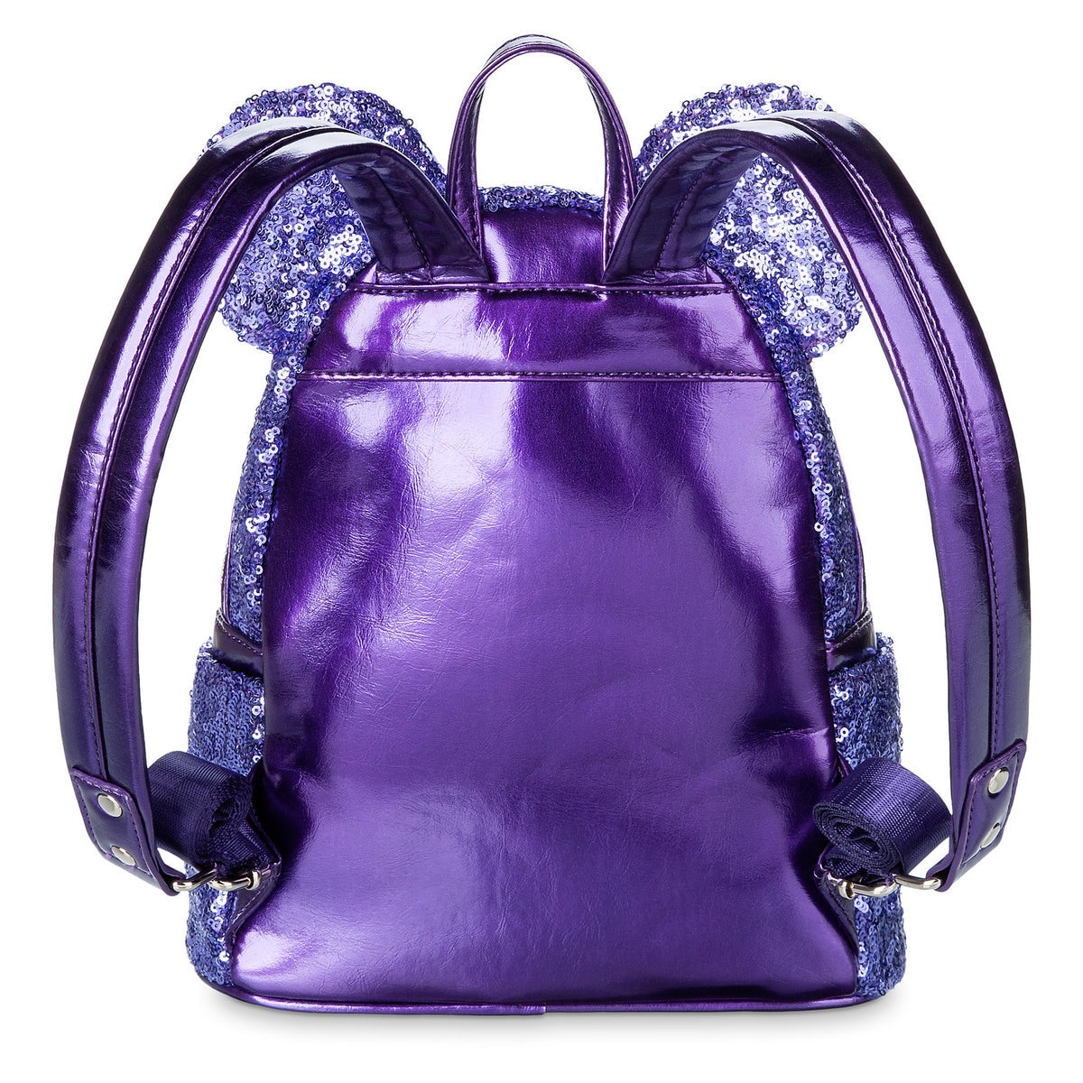 1b0cac13237 Product Image of Minnie Mouse Potion Purple Sequined Mini Backpack by  Loungefly   2