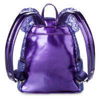 Image of Minnie Mouse Potion Purple Sequined Mini Backpack by Loungefly # 2