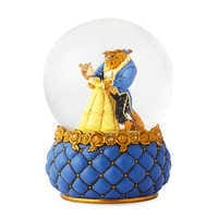 Image of Beauty and the Beast Couture de Force Snowglobe by Enesco # 1
