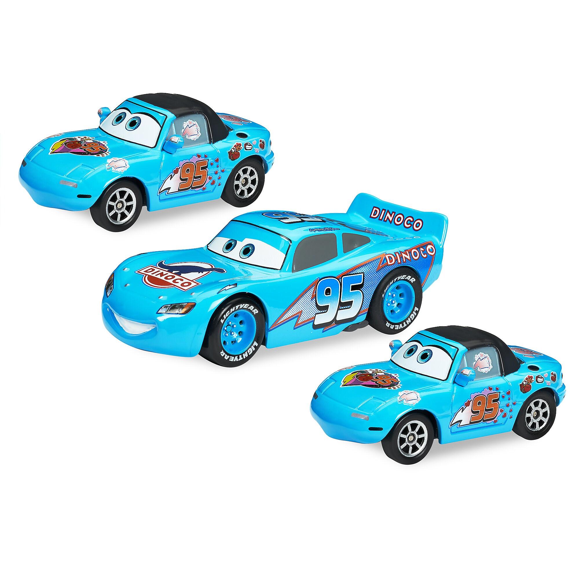 Dinoco Dream Pull 'N' Race Die Cast Set - Cars