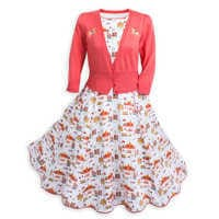 Image of Main Street, U.S.A Dress & Sweater Set for Women by Her Universe # 1