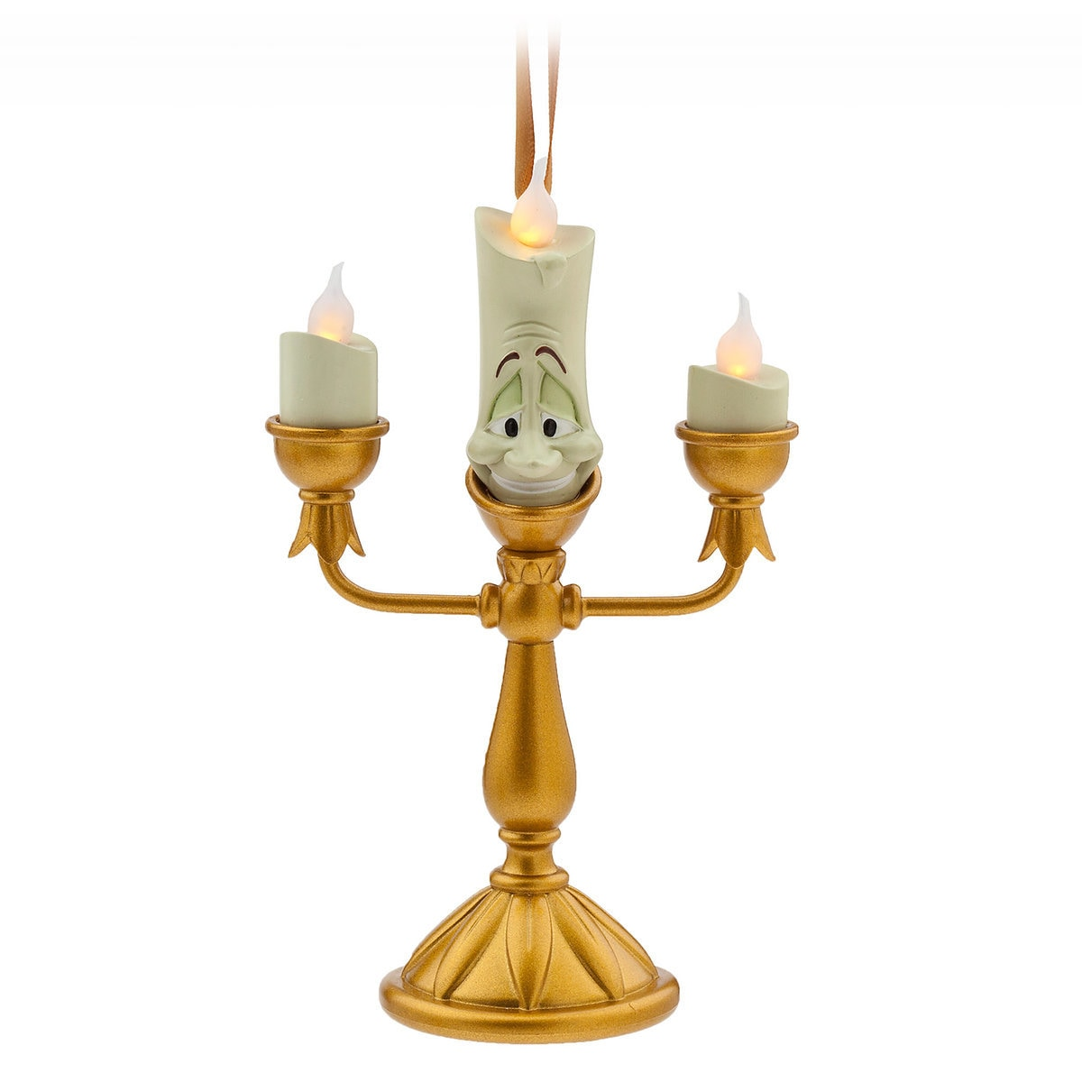 Thumbnail Image Of Lumiere Light Up Figural Ornament Beauty And The Beast 1