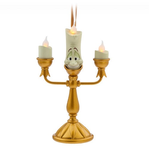 Lumiere Light Up Figural Ornament Beauty And The Beast