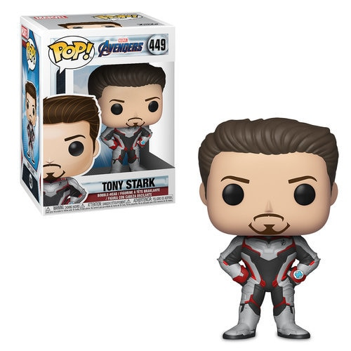 Tony Stark Pop! Vinyl Bobble-Head Figure by Funko - Marvel's Avengers: Endgame