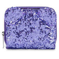 Image of Minnie Mouse Potion Purple Sequined Wallet by Loungefly # 2