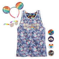 Image of Rainbow Disney Collection Mickey Mouse Collection with Tank Top # 1