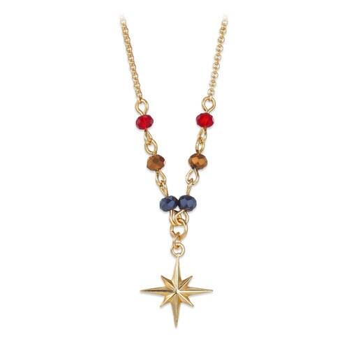 Marvel's Captain Marvel Star Crystal Bead Necklace
